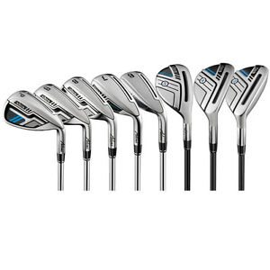 New Adams Golf Idea Hybrid Iron Set 4-6H 7-8T 9-PW  RH MSRP $950