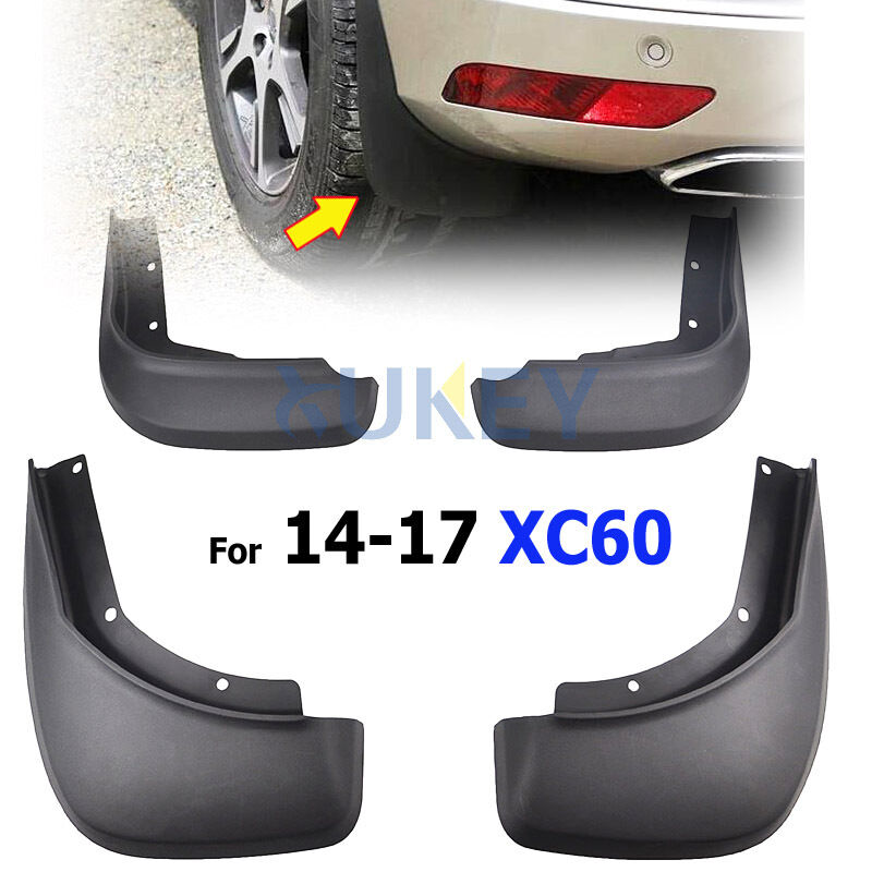 Fit For Volvo XC60 2014+ OEM Style Mud Flaps Splash Protection Guards Accessory
