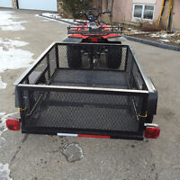 3-ft 6-in x 5-ft Wire Mesh Utility Trailer