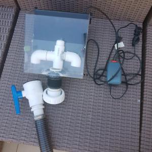 Overflow externe CPR CS100 aquarium décante eau salée