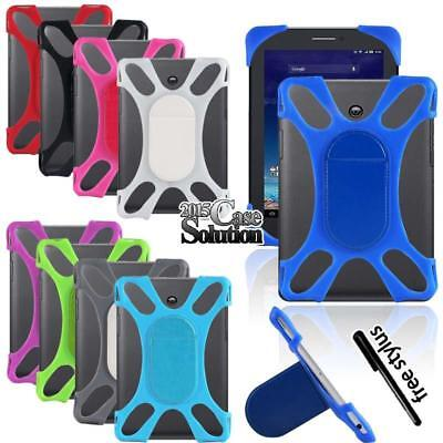 Memo Case - Shockproof Silicone Stand Cover Case For ASUS MEMO Pad