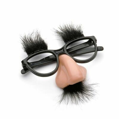 Glasses With Nose And Mustache (Fashion Novelty Disguise Glasses With Nose Eyebrows And Moustache For Kid)