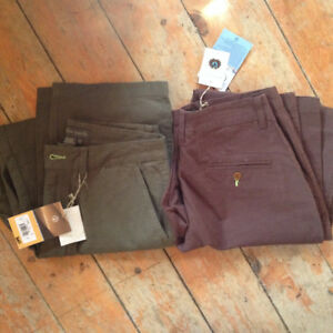2 Pairs of Organic Cotton Pants Size 32 new with tags