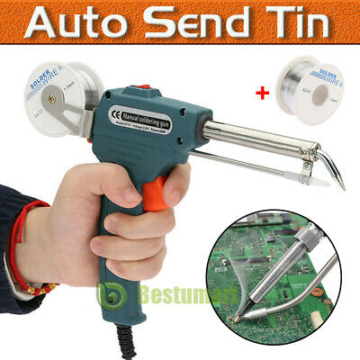 60w Auto Welding Electric Soldering Iron Temperature Gun Solder Tool Kitwire Us