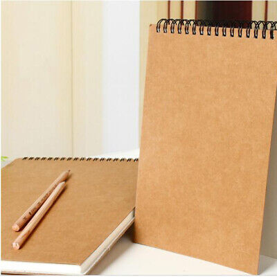 A5 Notebook Diary Paper Sketch Book For Watercolor Drawing Painting Art 30 Sheet