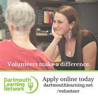 Looking for Volunteer Mentors for Adult Learners in Dartmouth