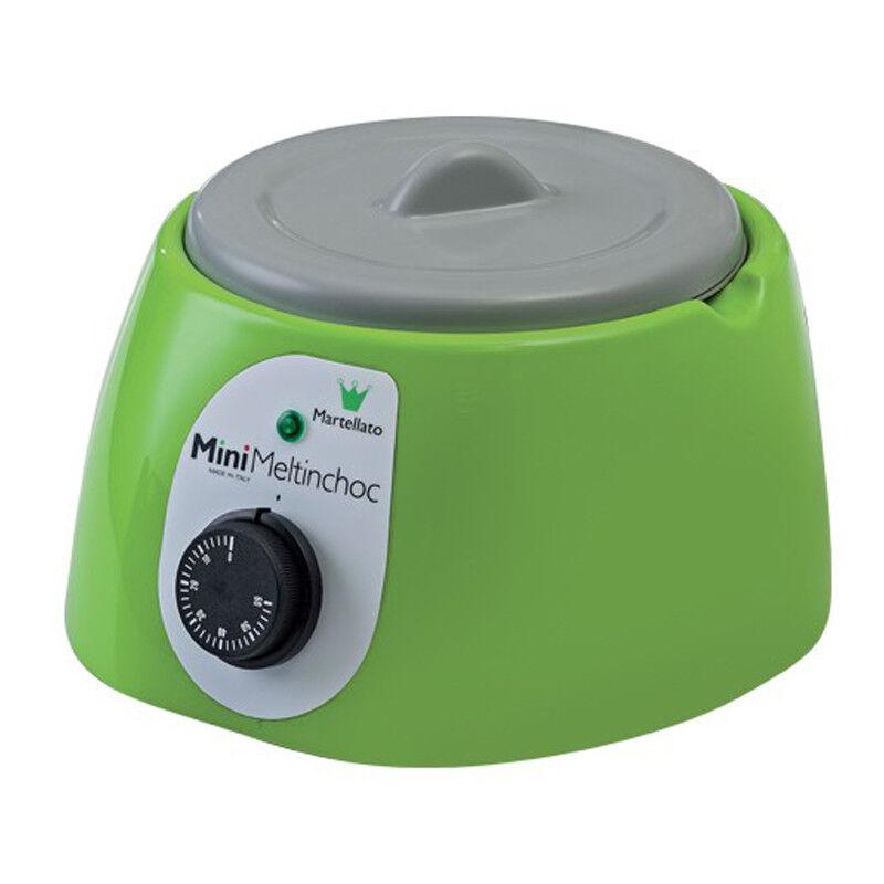 Martellato MC09VUSA Mini Meltinchoc Chocolate Tempering Machine, Green