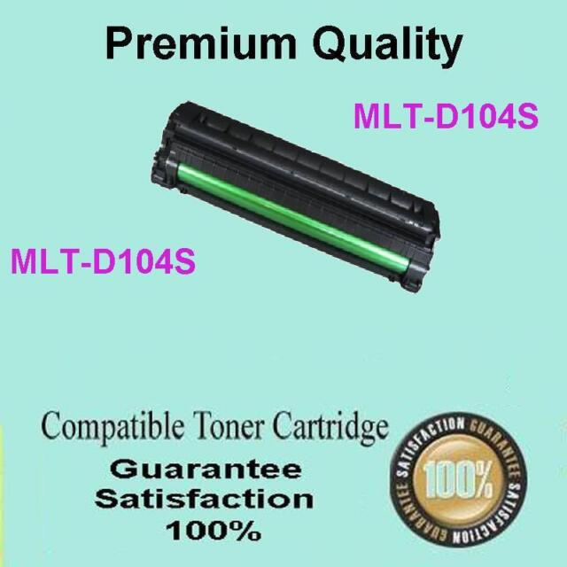 1x SAMSUNG MLTD104S Toner for ML-1660 ML-1665 ML-1860 ML-1865 ML1865W SCX-3200