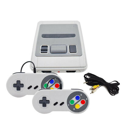 MINI SNES SUPER NINTENDO STYLE RETRO ARCADE GAMES CONSOLE: 600 BUILT-IN GAMES