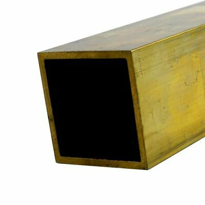 C272 Brass Square Tube 1-12 X 1-12 X 0.100 Wall X 24 Long