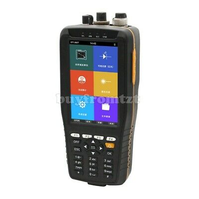 "TM290 Optical Time Domain Reflectometer OTDR VFL OPM OLS 4"" Non-Touch Screen tzt"