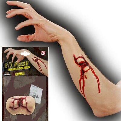OFFENER KNOCHEN BRUCH F/X Make Up Horror Verletzung Halloween  4167 (Horror Make Up)