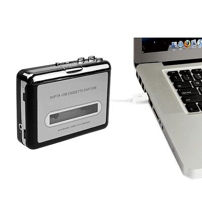 USB Cassette Tape to PC MP3 CD Switcher Converter Capture Audio Music Player US