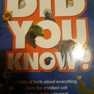 Did You Know? Facts Book Books