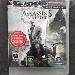 PS3 / Playstation 3 Game: ASSASSIN'S CREED III