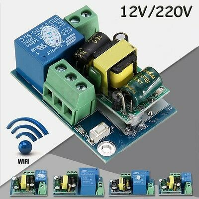 Wireless Wifi Relay Switch Module Mobile Phone Remote Control Timer Smart Home ()