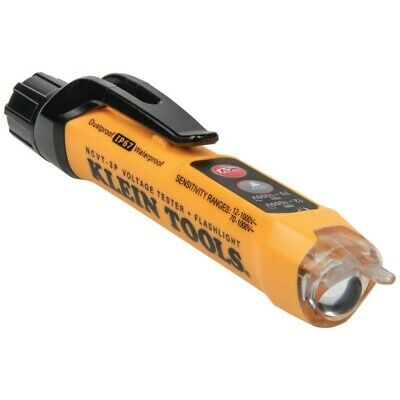 Klein Tool Cat Iv Non-contact Voltage Tester Detects 12 -1000v Ac W Flashlight