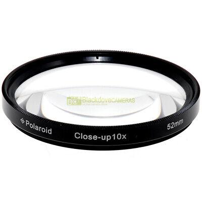 52mm. aggiuntivo macro x10 Polaroid. Close-up lens Per obiettivi con diam. 52 mm