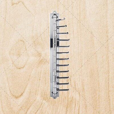 Closet Organizer Hardware Cascading / Tower Tie Rack cht57t Polished -