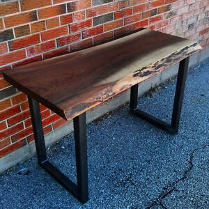*** CUSTOM RECLAIMED BARN BOARD CONSOLE / HALLWAY TABLES ***