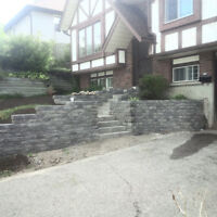 I do Interlock, Flagstone, Retaining Walls etc,,