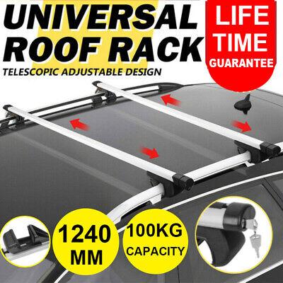 UKB4C Locking Aluminium Roof Rack Cross Bars fits Suzuki Vitara 2015-2019 5 door