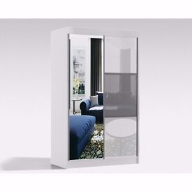 RUMBA MIRRORED SUPREME QUALITY WARDROBES IN DIFFERENT WIDTHS IN A VERY CHEAP PRICE