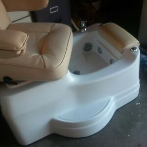 Spa chairs with massage Jets
