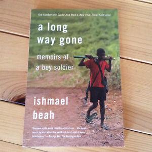 A Long way gone by Ishmael Beah $10