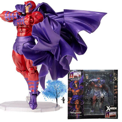Marvel No.006 MAGNETO X-men Action Figure Amazing Revoltech Kaiyodo Verison Toy