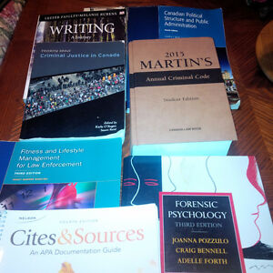 Police Foundations Books-SEMESTER ONE (priced for quick sale):