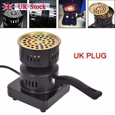 Electric Coal Starter Hookah Shisha Nargila Heater Stove BBQ Charcoal Burner UK