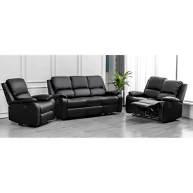 *** New Real leather recliners sofas price starting from £299