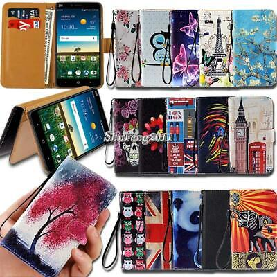For ZTE Blade A1 A3 A4 A5 A6 A7 Flip Leather Card Wallet Stand Cover Phone Case