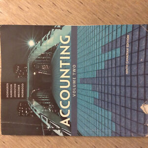 Accounting Volume-2, 9th Edition by Horngren