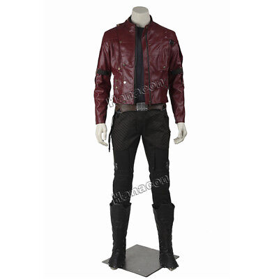 - Guardians of the Galaxy Costume Star Lord Cosplay Jacket Peter Quill Outfit Suit
