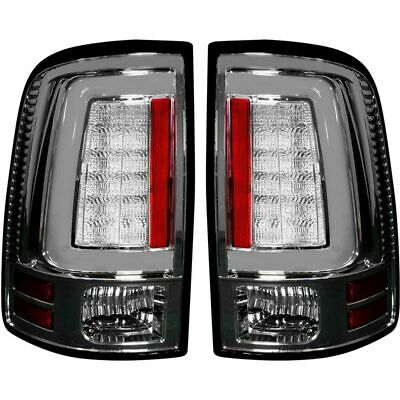 Recon Clear Lense OLED Tail Lights For 2013-2018 Dodge Ram w/ OE LED Tail