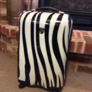 "Zebra Equus 21"" Fashion Spinner, Carry-on"