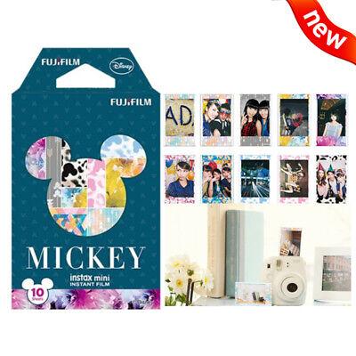 Mickey Fujifilm Instax Mini Instant Film 10 Sheets For Mini 9 8 7s 70 90 25 SP-2