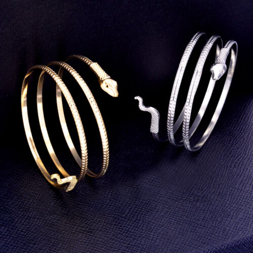 Schlangenarm Spirale Oberarm Manschette Armbinde Armband Armreif Fußkettchen