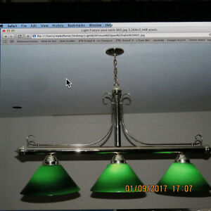 Billiard Table LIght Fixture