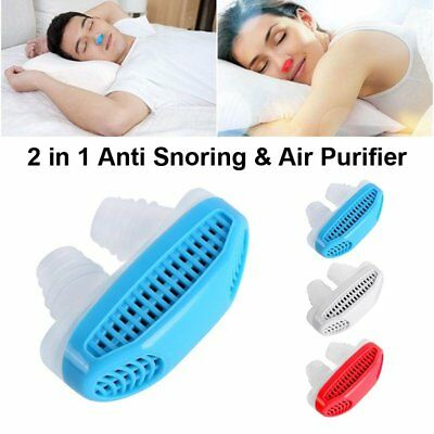 Anti Snoring   Sleeping Breath Device Air Purifier Silicone Relieve Stuffy Nose