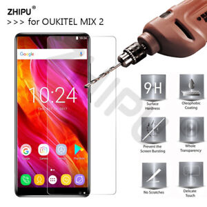3x 0.26mm 9H Premium Tempered Glass For OUKITEL MIX 2 5.99 ""