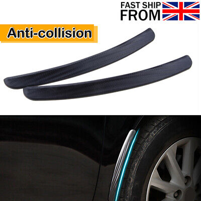 Pair SUV Car Fender Flares Mud Mudguard Wheel Arches Protector Strip Universal