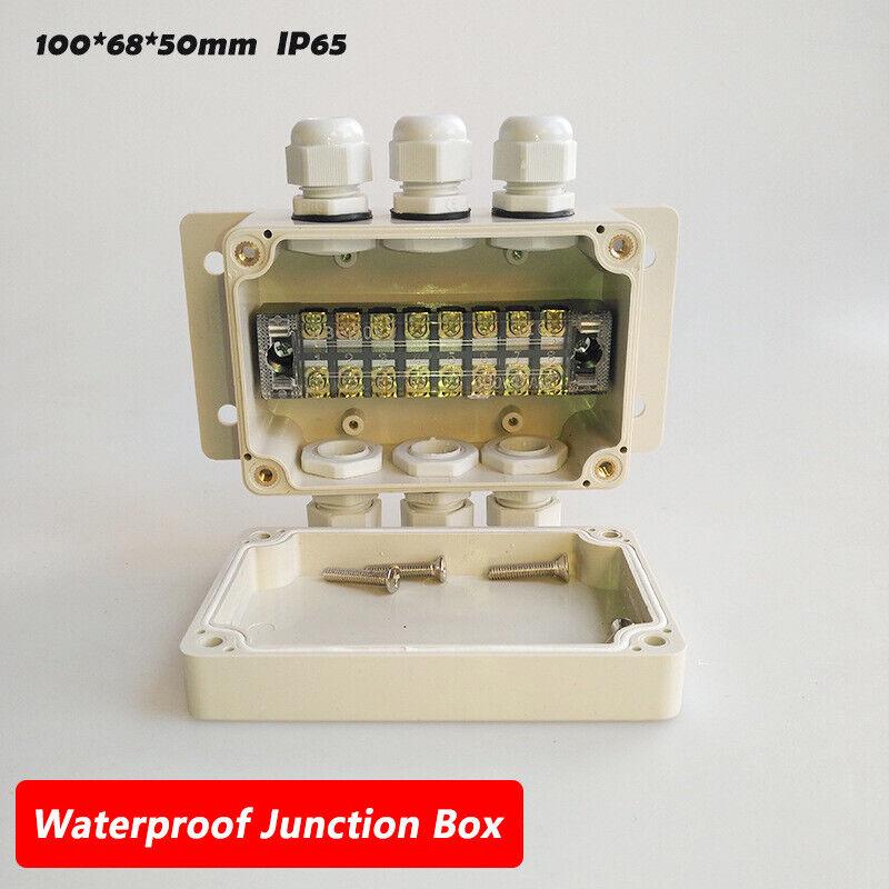 Ip65 8 Pin Waterproof Weatherproof Junction Box Electric Enclosure Case