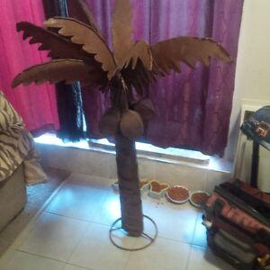 steel rust art palmtree