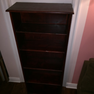 Solid Wood Pine Bookshelf