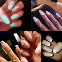 Pose d'ongle