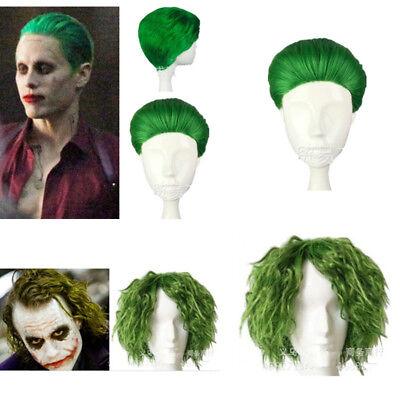Halloween Cosplay Kostüm Perücke Joker Clown Batman Hair Wig Party Karneval
