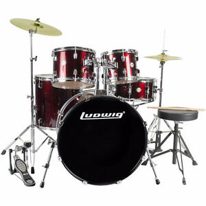 Ludwig Accent Complete with Cymbals